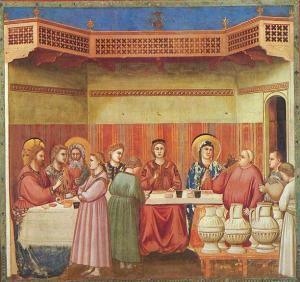 Giotto, Kánai mennyegző - Capella Scrovegni (13. sz. eleje)