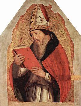 Augustinus - a kép forrása: http://www.philosophyarchive.com/index.php?title=File:Aurelius_Augustinus.jpg
