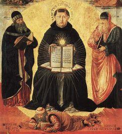 Szent Tamás diadala - Benozzo Gozzoli, 1471