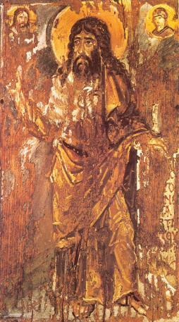 Keresztelő Szent János, ikon, Sinai Szent Katalin monostor, 6. század