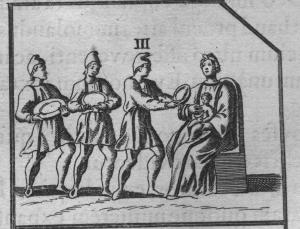 Adoratio magorum. Aringhius Roma subterranea novissima (p. 46.)