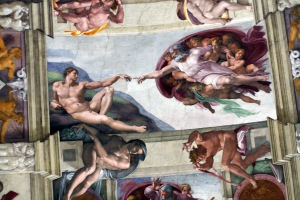 Michelangelo - az ember teremtése