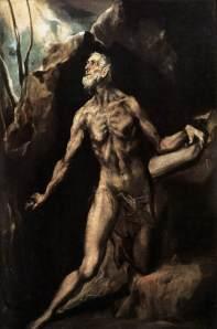 El Greco: A vezeklő Szent Jeromos, 1610-1614