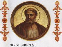 Siricius pápa (384-399)