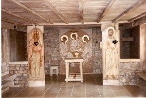 """A Betlehem nővérek  """"Színeváltozás"""" kápolnája"""