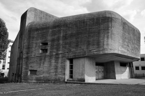 Claude Parent és Paul Virilio bunkertemploma, Nevers