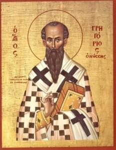 Nüsszai Szent Gergely (kb. 335 – 395)