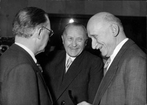 De Gasperi, Adenauer, Schuman - 1951