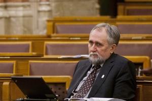 Ángyán József a parlamentben. Forrás: Origo