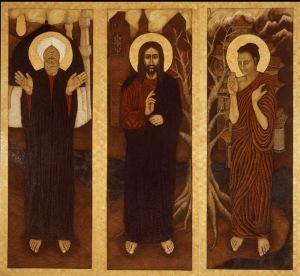 Mohamed, Jézus, Buddha