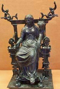 Concordia istennő a bőségszaruval