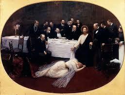 Jean Béraud, La Madeleine chez le pharisien. 1891