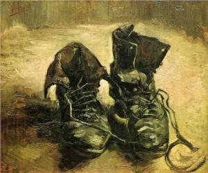 Parasztcipők - Vincent van Gogh (1886)