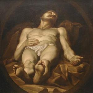 Halott Krisztus, ismeretlen festő 17. sz. Forrás: Pannonhalmi Főapátság gyűjteménye http://collections.osb.hu/cgi-bin/targy?targy=9&kep=dscn7940
