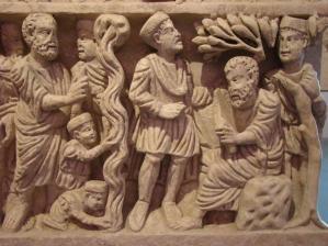 Péter és a katonák_Arles