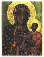 A częstochowai Fekete Madonna