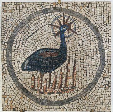 Phoenix mozaik Aquileia