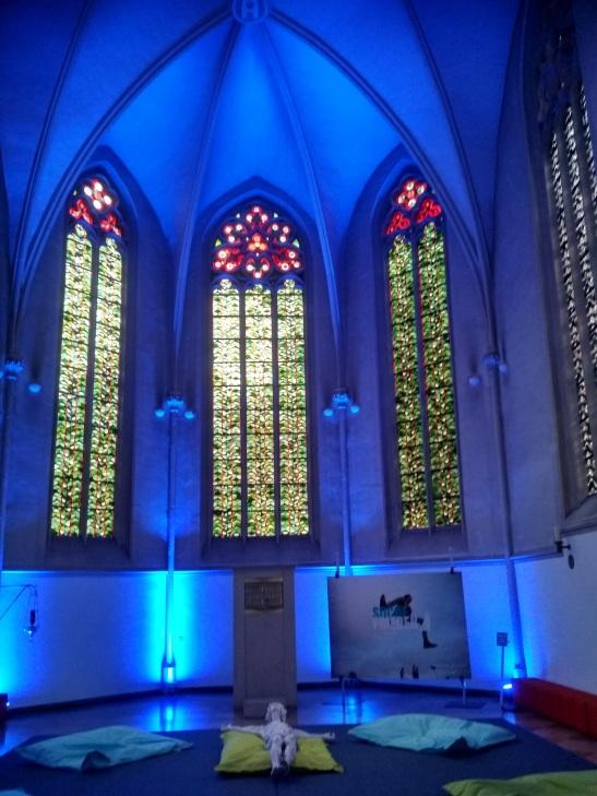Jugendkirche szentély