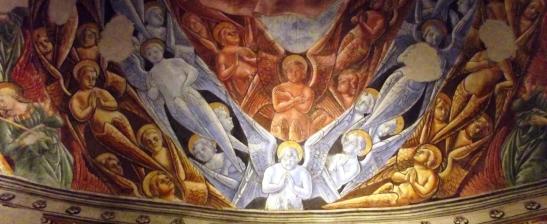 Antoniazzo Romano Chorus angelorum részlet